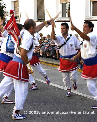 Ball de bastons  |  A traditional dancing
