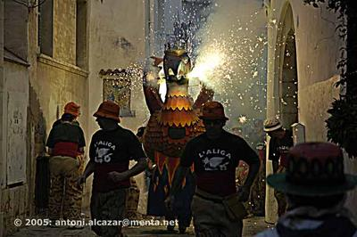 El Correfoc  |  (Correfoc means running before the fire)